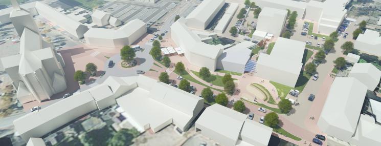 CroonenBuro5 maakt nieuw masterplan centrum Bocholt
