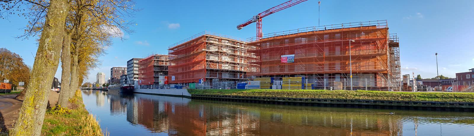 De bouw van Park ZuytWillemsvaert fase 1 vordert