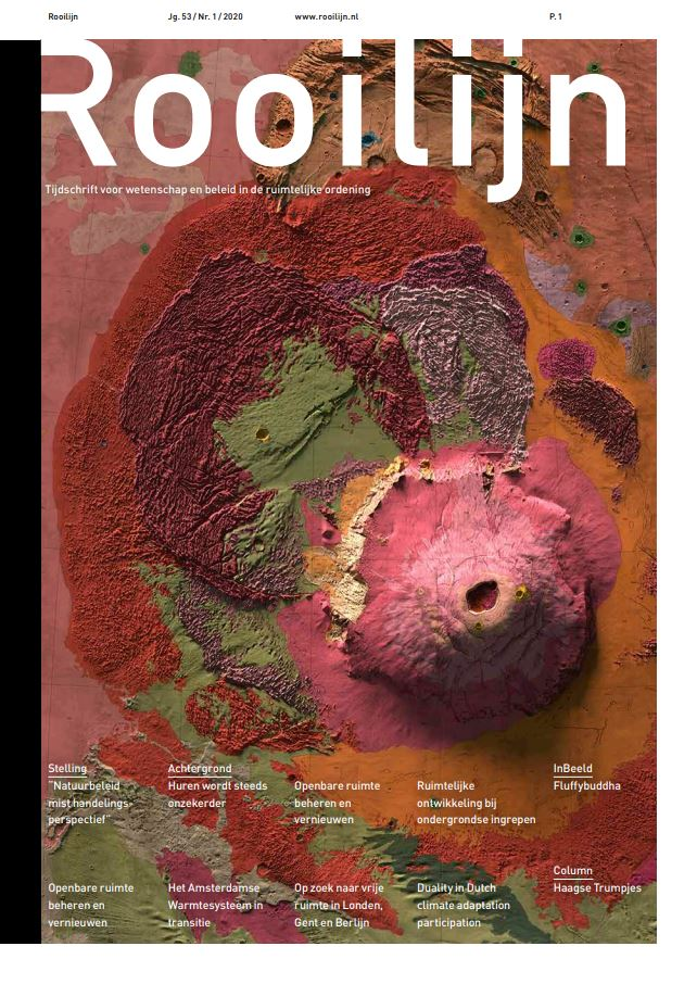 Publicatie Rooilijn: Ruimtelijke ontwikkeling bij ondergrondse ingrepen
